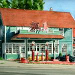Mobil Gas Station, Lynnwood, WA