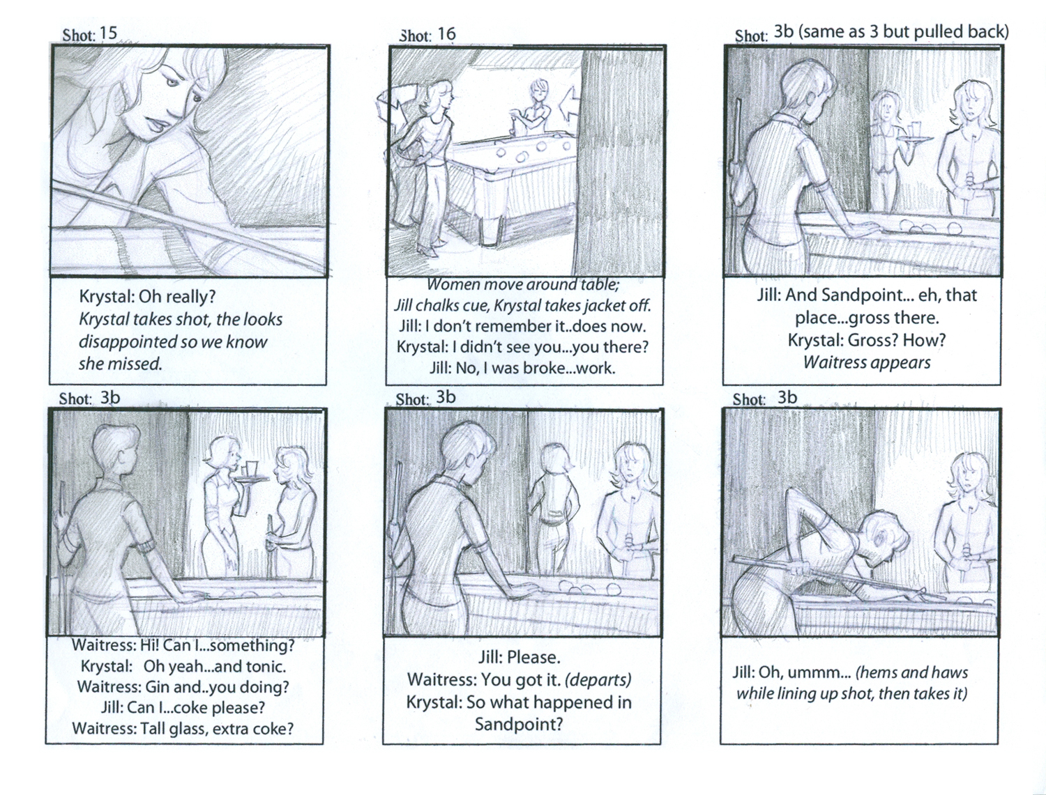 Example 1 - Storyboard
